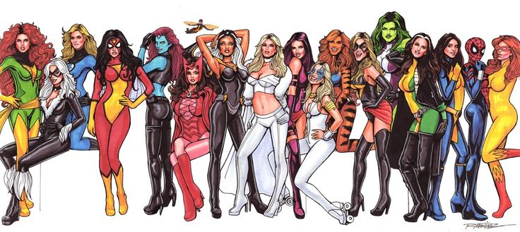 13 Female Marvel Characters Who Kick Ass